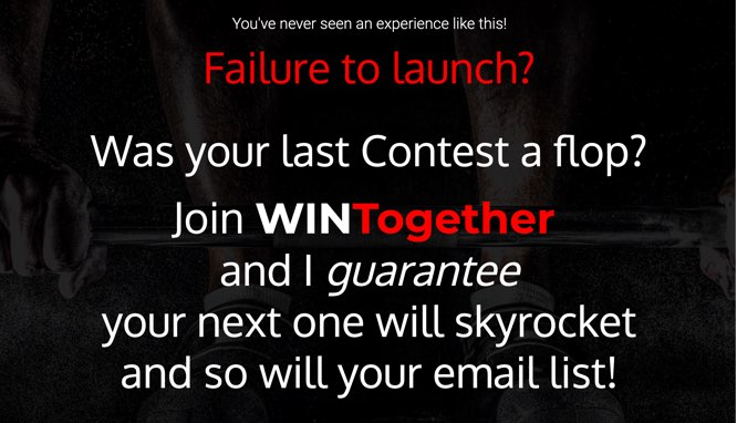 Build your first contest in 4 weeks and double your list!