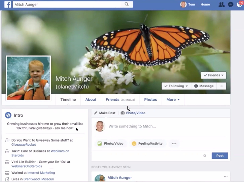 facebook profile art